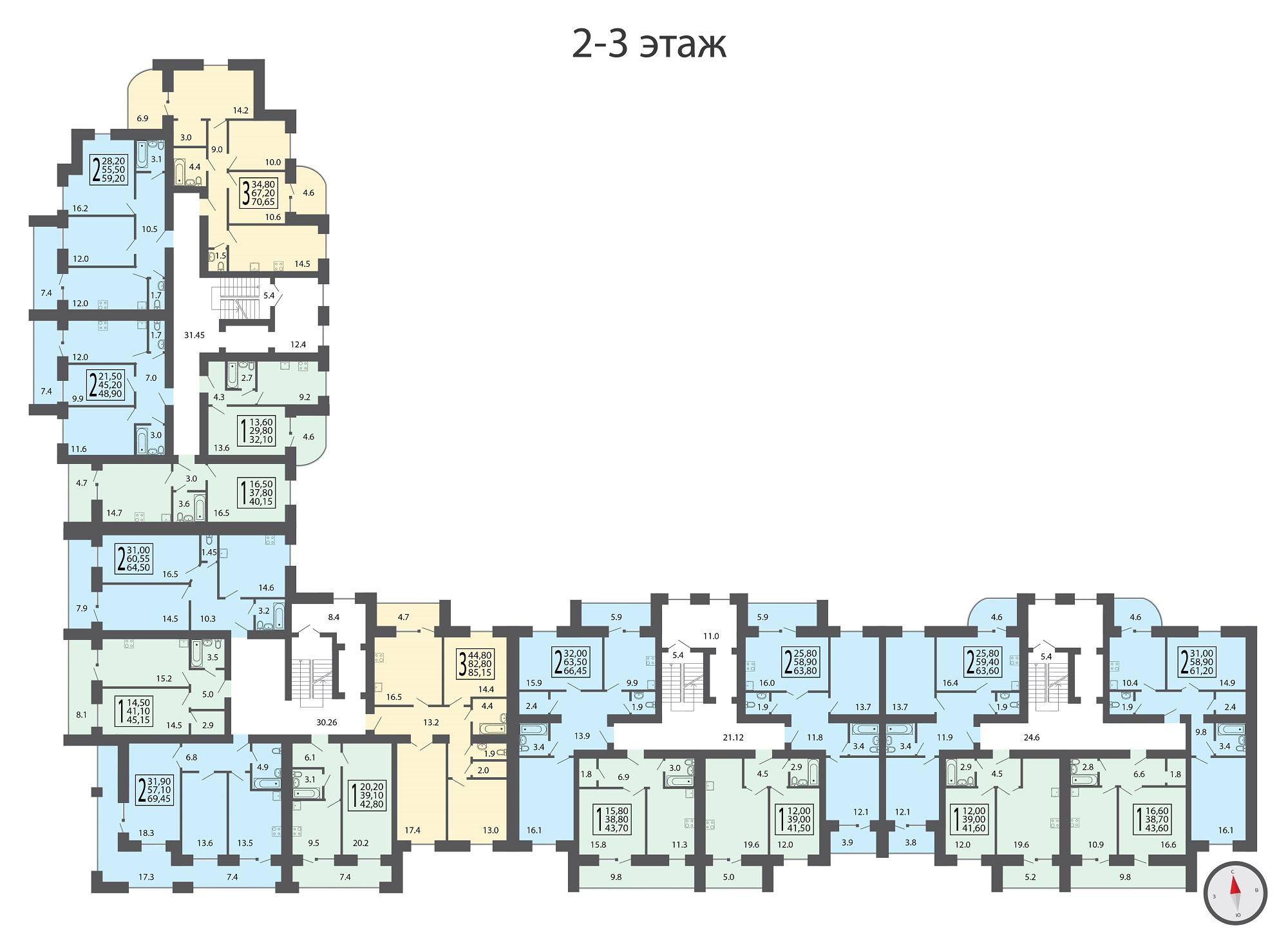 2-3 этаж-01