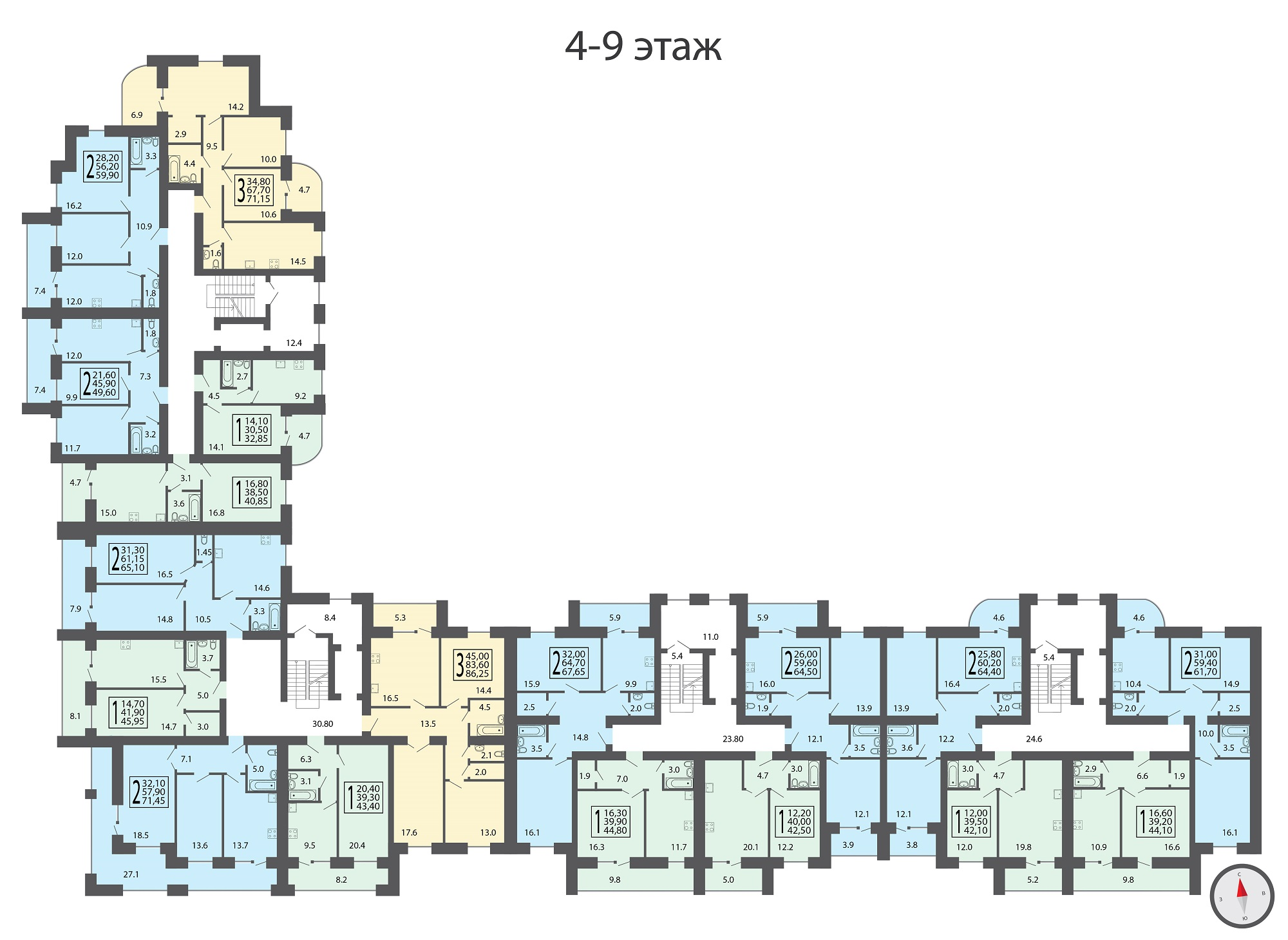 4-9 этаж-01
